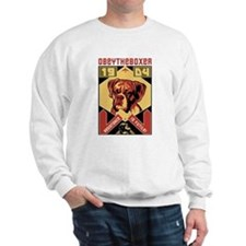Obey the Boxer! Sweatshirt