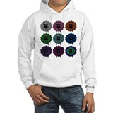 A Rainbow of Sheep Hoodie Sweatshirt