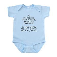 Best qualities about parents Infant Bodysuit