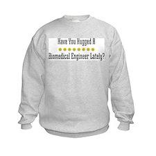 Hugged Biomedical Engineer Sweatshirt
