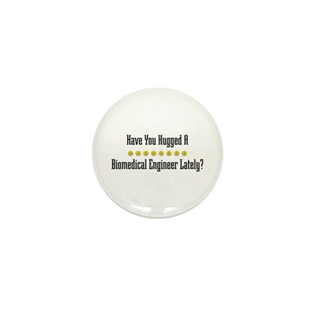 Hugged Biomedical Engineer Mini Button