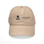 I Love Pirates Cap