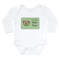Cute Reading children Long Sleeve Infant Bodysuit