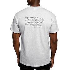 Ruth and Naomi Ash Grey T-Shirt