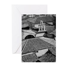 Toledo Rooftops Greeting Cards
