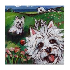 WESTIE country Tile Coaster