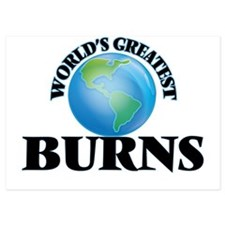 World's Greatest Burns Invitations