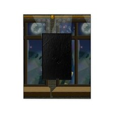 Ghosts in Window Halloween Picture Frame