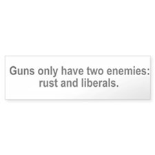 Guns only have two enemies