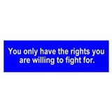 You only have the rights