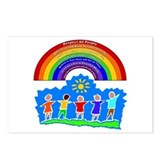Rainbow Principles Kids Postcards (Package of 8)