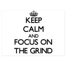 Keep Calm by focusing on The Grind Invitations