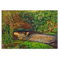 Millais: Drowning Ophelia Wall Art