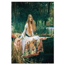Waterhouse: Lady Of Shalott Wall Art
