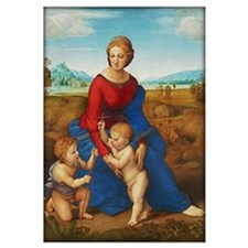 Raphael: Madonna In The Meadow Wall Art