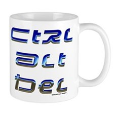 Unique Ctrl alt del Mug