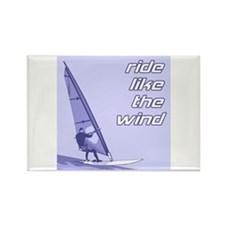 Windsurfing Rectangle Magnet