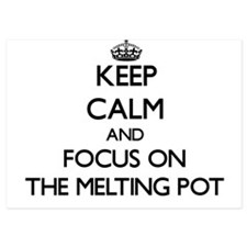 Keep Calm by focusing on The Melting P Invitations