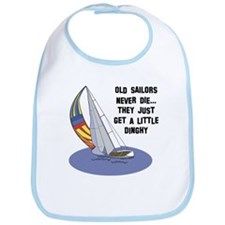 Old Sailors Never Die Bib