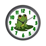 I Toad You So Wall Clock