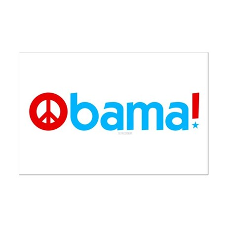 Obama for Peace Mini Poster Print