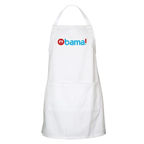 Obama for Peace BBQ Apron