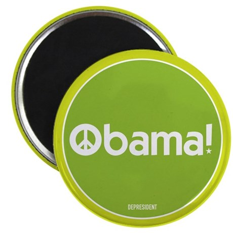 "Obama for Peace 2.25"" Magnet (100 pack)"
