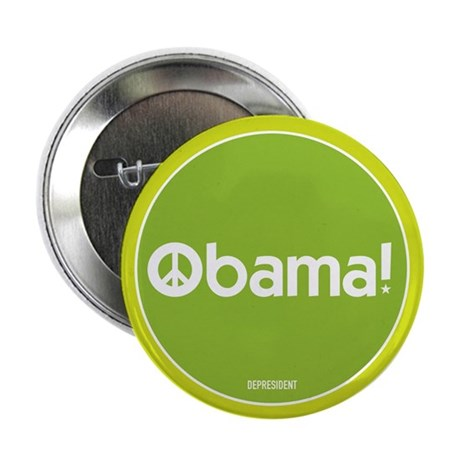 "Obama for Peace 2.25"" Button (10 pack)"