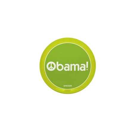 Obama for Peace Mini Button (100 pack)