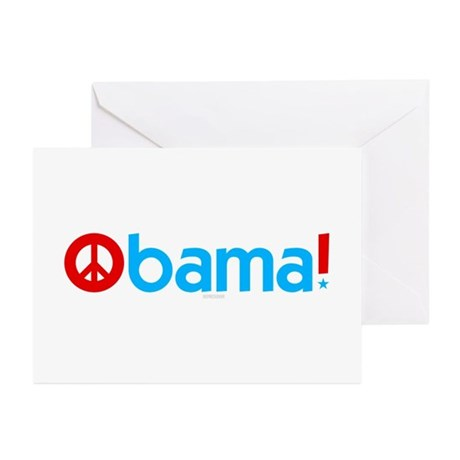 Obama for Peace Greeting Cards (Pk of 10)