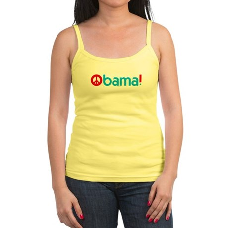 Obama for Peace Jr Spaghetti Tank