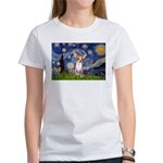 Starry Night Chihuahua Women's T-Shirt