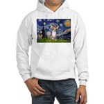 Starry Night Chihuahua Hooded Sweatshirt
