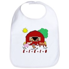 Old MacDonald Farm Nursery Rhymes Bib