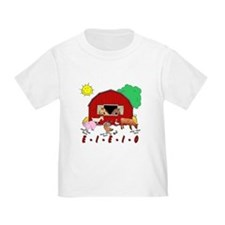 Old MacDonald Farm Nursery Rhymes Baby/Toddler Tee