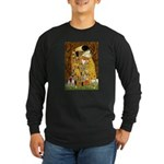 The Kiss & Chihuahua Long Sleeve Dark T-Shirt