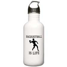 Racquetball Is Life Water Bottle