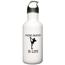 Figure Skating Is Life Water Bottle