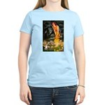 Fairies & Chihuahua Women's Light T-Shirt