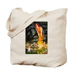 Fairies & Chihuahua Tote Bag