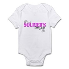 Cute Army daughter Infant Bodysuit
