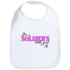 Cute Army daughter Bib