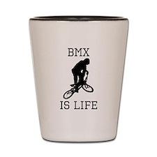 BMX Is Life Shot Glass
