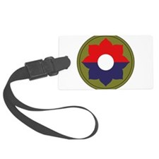 9th Infantry Division.png Luggage Tag