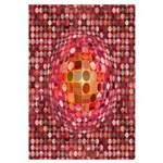 Optical Illusion Sphere - Pink Wall Art