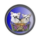Cute Chihuahuas Wall Clock