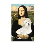 Mona's Coton de Tulear Sticker (Rectangle)