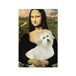 Mona's Coton de Tulear Rectangle Magnet