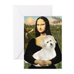 Mona's Coton de Tulear Greeting Cards (Pk of 10)