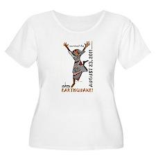 East Coast Earthquake Plus Size T-Shirt